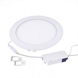Pannello LED da Incasso 18W - Foro Ø200mm Rotondo