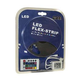 Kit Striscia LED RGB 14,4W/m + Alimentatore + Controller RGB Cambiacolore FN00260