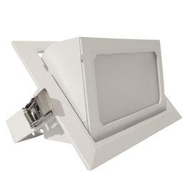 Faro Rettangolare da incasso LED 40W - Bianco Naturale - foro incasso 230x130mm - FN00672