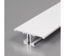 Profilo a parete Bidirezionale Bianco per strisce LED da 2 metri