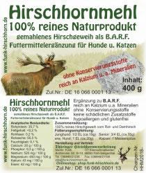 Hirschhornmehl 400gr.