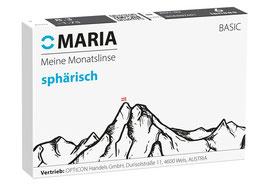 6er MARIA COMFORT Monatslinsen SPHÄRISCH 8,30