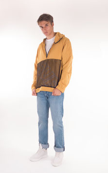 Huf, Wire Frame Anorak Jacket, Honey Mustard