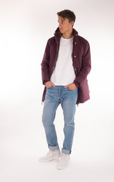 Wemoto, Finley Long Jacket, Burgundy
