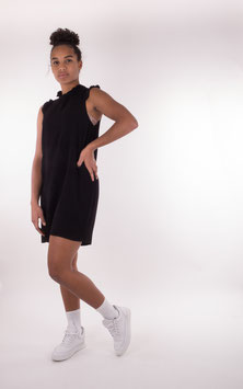 Pop Copenhagen, Sleeveless Ruffle Dress, Black