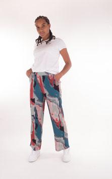Won Hundred, Lilian Pants, Abstract Watercolor Print