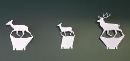 Klappziel Paket: Rudel Rotwild/ Pop up package: 3 red deers