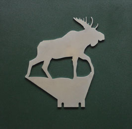 Klappziel Elchbulle/ Pop Up target Moose
