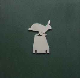 Klappziel Hase/ Pop up target Hare