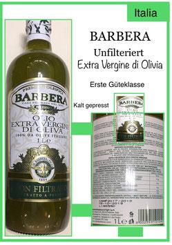 Barbera,Extra Vergine di Olivia 1l.Fl.