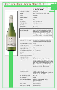Free - run Steen Chenin Blanc 20017