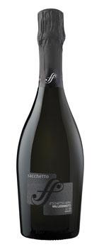Spumante 'Etichetta Nera' Milesimato Extra Dry  SACCHETTO, VENETIEN - 6er Pack