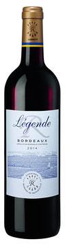 legende rouge aop 2014, Barons de Rothschild (lafite)