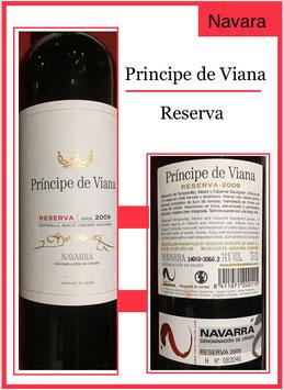 Pri'ncip de Viana Reserva 2010