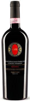 Opi Montepulciano d'Abruzzo Colline Teramane DOCG Riserva 2011 -  6 er Pack (liemitiert)