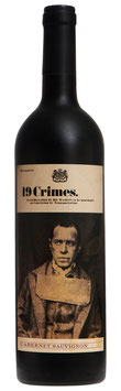 19 Crimes Cabernet Sauvignon  Australien 2018*/19   -  in  6 er Pack