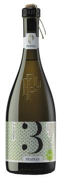 Presa N° 3 Prosecco DOCG Asolo Vino Frizzante biologico spago 2018  -  6 er Pack