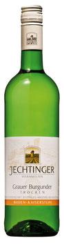 Grauburgunder Qualitätswein trocken 2018* Jechtingen Kaisestuhl- Baden -  6 er Pack