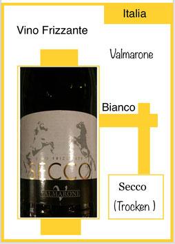 Secco Vino Frizzante, Venezie IGT 2016, trocken