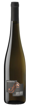 'L'Elfo' Pinot Grigio Veneto 2018  IGT SACCHETTO  VENETIEN -  6er Pack