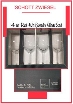 4er rotwein Gläser Set  Schott Zwiesel