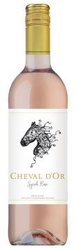Cheval d'Or Syrah Rosé 2019 - 6er Pack