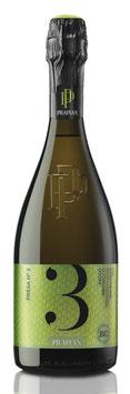 Presa N° 3 Prosecco DOCG Asolo Vino biologico Brut 2018 - 6 er Pack