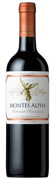 Montes Alpha Cabernet Sauvignon 2017 Chile  -  6 er Pack
