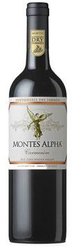 Montes Alpha Carmenère 2017  Chile  -   6 er Pack
