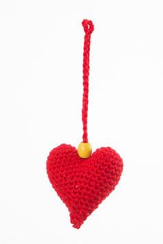 Herz Glücksanhänger Rot