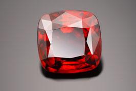 Roter Ceylon-Granat im Antik-Schliff 11,83 ct