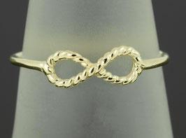 Verlobungs-Ring Unendlichkeitszeichen aus Gold oder Platin Eternity - Collection