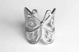 Schmetterling-Ring aus Platin mit Brillanten Butterfly - Collection