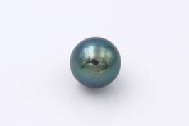 Tahiti-Perle blau-grün 10mm
