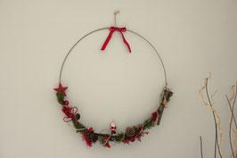 Atelier DIY Couronne de Noël fleurs séchées