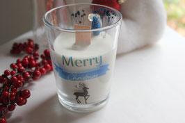 Bougie végétale Mug de Noël - Merry Christmas