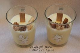 Bougie végétale pot pourri Ananas - jasmin
