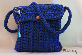 Sac en crochet Blue Sky