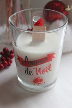 Bougie végétale Mug de Noël - Amour de Noël