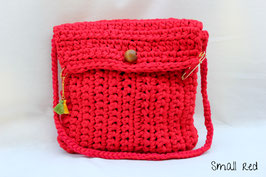 Sac en crochet Small red