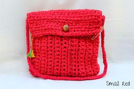 Sac en crochet Small red