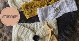 Atelier DIY Crochet : création de headband