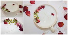 Atelier DIY fabrication de bougies fleuries artisanales