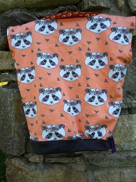 """Haut """"Sweat Ohm Kids"""" 4/6 ans -pandas orangés-"""