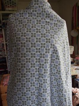 Motifs vintage avec des têtes de hibou en jersey coton (modèle LL)