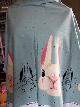 Lapin bien curieux en jersey coton label Oeko Tex (modèle LL)
