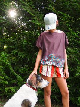 "Haut ""Sweat Ω"" modèle LC jersey -champignons-"