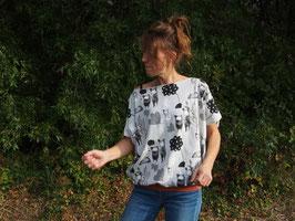 "Haut "" Sweat Ω "" modèle LC jersey -oursons-"
