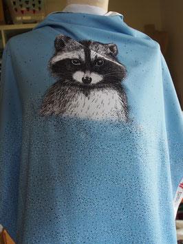 Joli raton laveur en jersey coton label Oeko Tex (modèle MC)