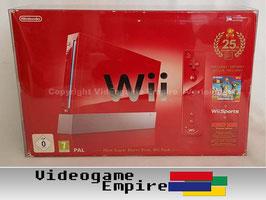 Nintendo Wii Konsole OVP (25th Anniversary) [Höhe 25! Tiefe 13,5cm!]